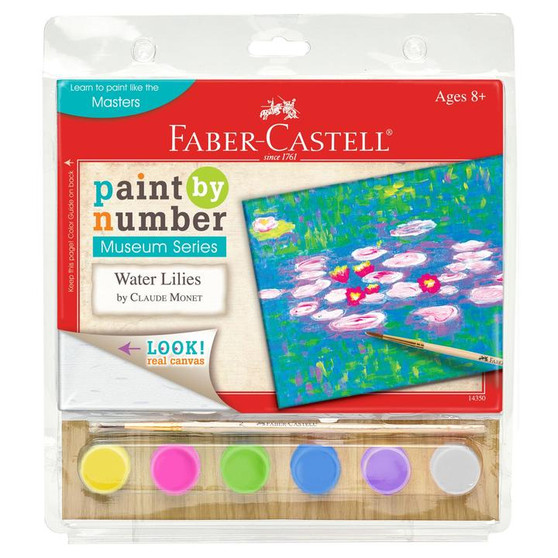 Faber-Castell Paint by Number Museum Series Water Lilies by Claude Monet