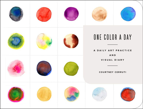 One Color a Day Sketchbook: Daily Art Practice and Visual Diary