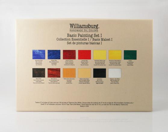 Williamsburg Handmade Oil Basic 13 Color Set