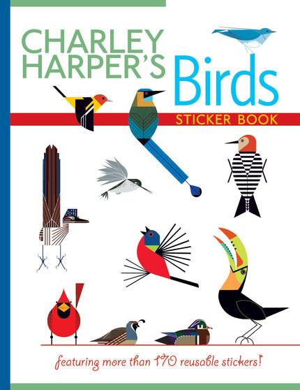 Pomegranate Charley Harper's Birds Sticker Book