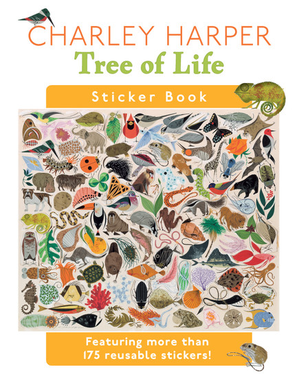 Pomegranate's Charley Harper: Tree of Life Sticker Book