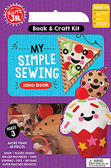 Klutz Jr. Activity Kit My Simple Sewing Kit