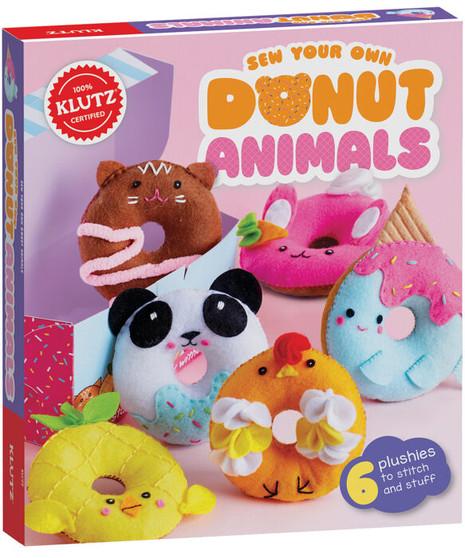 Klutz Activity Kit Sew Your Own Donut Animals