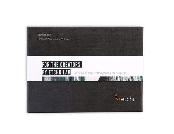 Etchr Watercolour Postcards: Hot Press 100 Pack