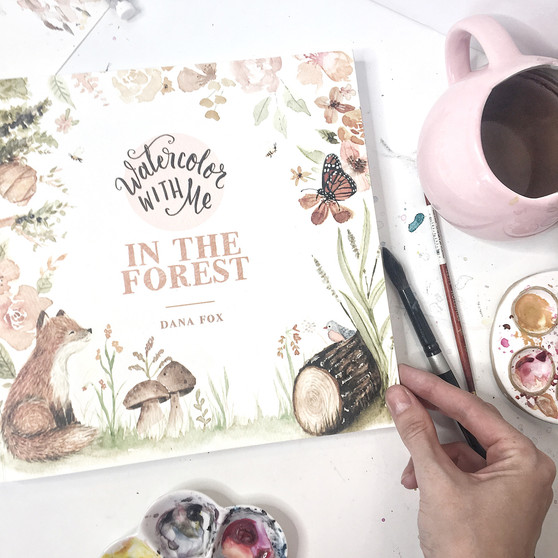Watercolor With Me In The Forest