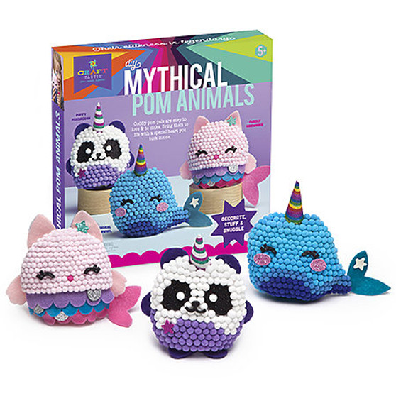Ann Williams Craft-tastic Mythical Pom Animals Kit