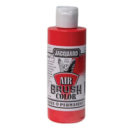 Jacquard Airbrush Color 4oz Metallic Red