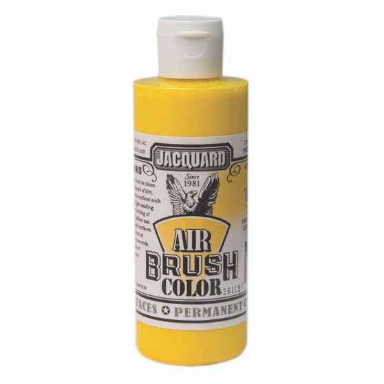 Jacquard Airbrush Color 4oz Bright Yellow