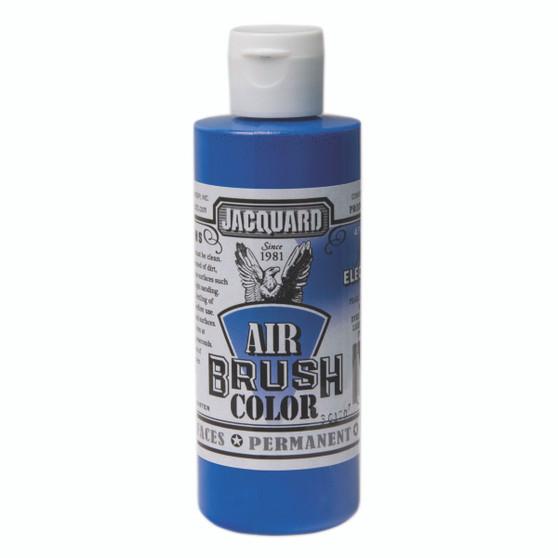 Jacquard Airbrush Color 4oz Iridescent Electric Blue