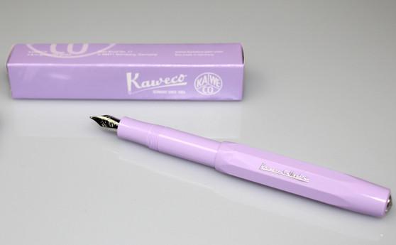 Kaweco Skyline Sport Fountain Pen Lavender EF