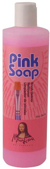 Mona Lisa Pink Soap Artist Brush Cleaner 12oz