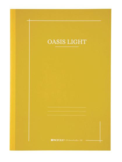 Itoya ProFolio Oasis Light Journal B5 7X10 Mustard