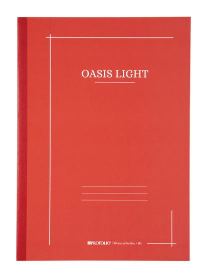 Itoya ProFolio Oasis Light Journal B5 7X10 Tomato