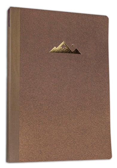 Itoya ProFolio Oasis Summit Notebook Golden Brown