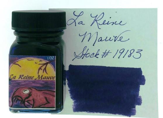 Noodler's Fountain Pen Ink 1oz La Reine Mauve Eternal