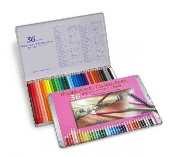 Holbein Colored Pencil Set 36