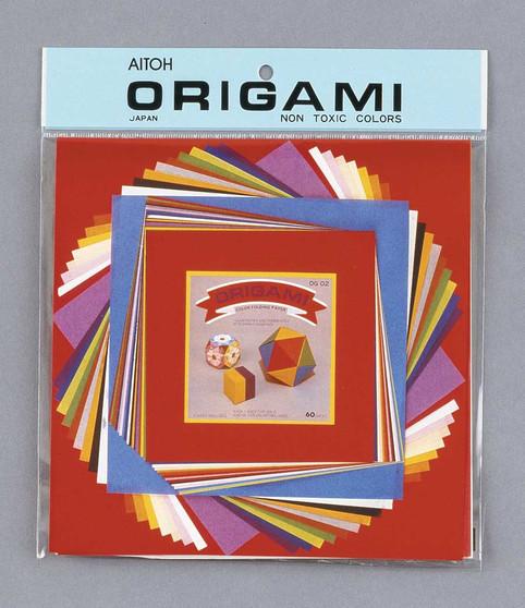 "Aitoh Origami Medium Mix 60 Sheets 4.5/5.9/8.5"""