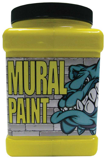 Chroma Mural Paint Half Gallon Scorched Yellow