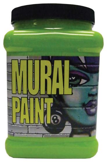 Chroma Mural Paint Half Gallon Slime Green