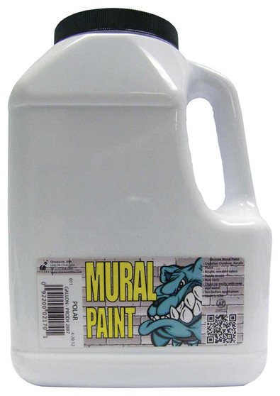 Chroma Mural Paint Gallon Polar White
