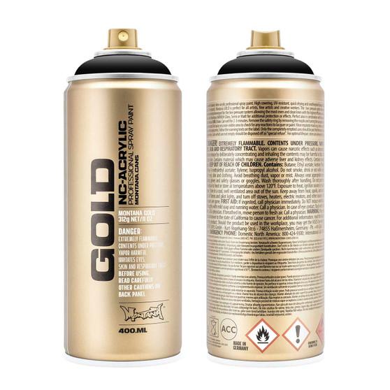 Montana GOLD Spray Paint Shock Black