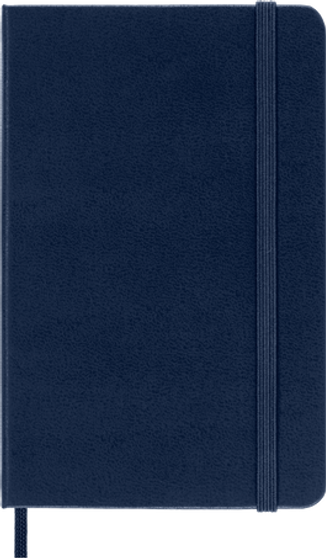 Moleskine 2021/22 18 Month Planner Weekly Pocket Sapphire Hard Cover