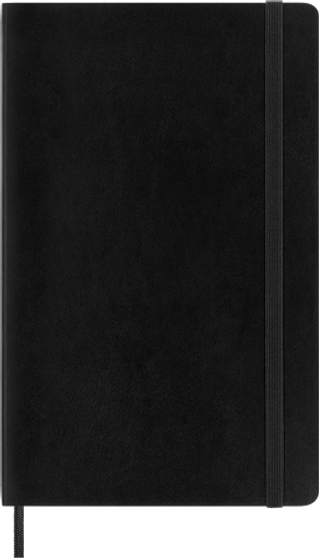 Moleskine 2021/22 18 Month Planner Weekly Large Black Soft Cover