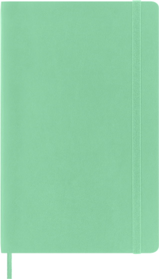 Moleskine 2022 12 Month Daily Planner Large Hard Cover Ice Green