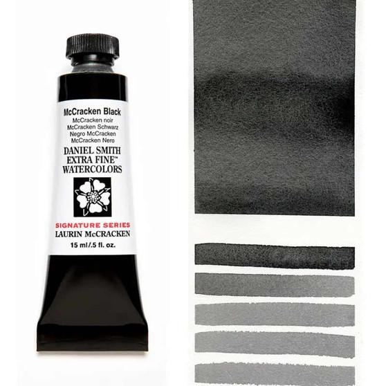 Daniel Smith Watercolor 15ml McCracken Black