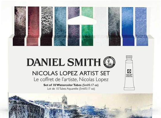 Daniel Smith Watercolor Nicolas Lopez Artist 10 Tube Set