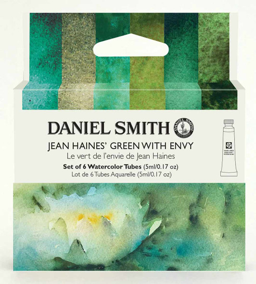 Daniel Smith Watercolor Jean Haines' Green with Envy 6 Set