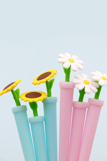 BC Mini Toy Gel Pen Potted Flower