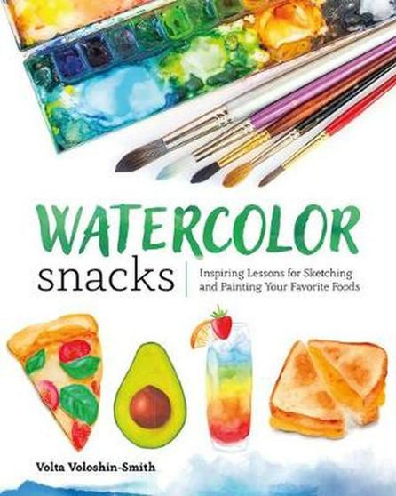 Watercolor Snacks