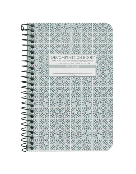 Michael Roger Press Decomposition Notebook Pocket Dot Mosaic