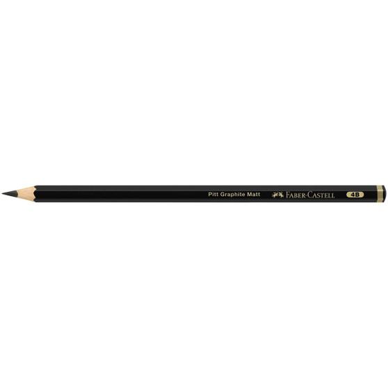 Faber-Castell Pitt Graphite Matte Pencil 4B