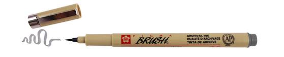 Sakura Pigma Micron Pen Brush Dark Grey