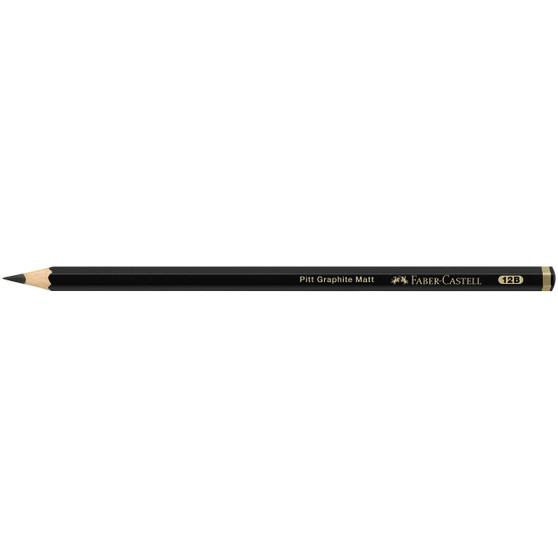 Faber-Castell Pitt Graphite Matte Pencil 12B