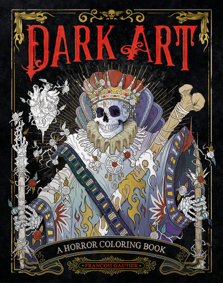 Dark Art: A Horror Coloring Book