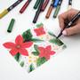 Tombow Dual Brush Marker Set of 10 Holiday