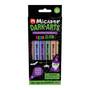 Micador Dark Arts Neon Glow Scented Highlighter 6 Pack