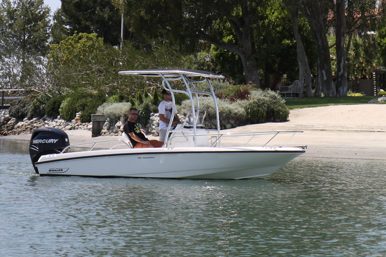 SG600 T-Top for Center Console Boats - Anodized Finish