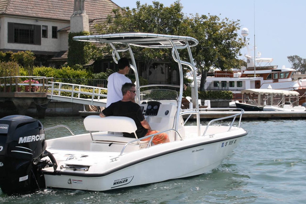 SG600 Folding T-Top for Center Console Boats by Stryker