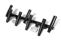 Stryker T-Top Rocket Launcher (7 Rod) with LED Lights - Powder Coated Black