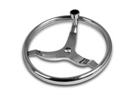 Boat Sport Steering Wheel with Steering Knob (316 Stainless Steel)