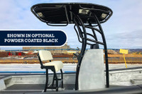 SG900 T-Top for Center Console Boats - Powder Coated Black
