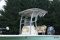SG900 T-Top for Center Console Boats - Powder Coated QuickSilver