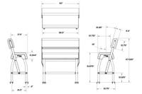 LP200 leaning post measurements