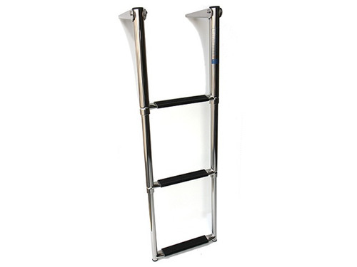 Telescoping Stainless Steel Boat Ladder - 3 Step