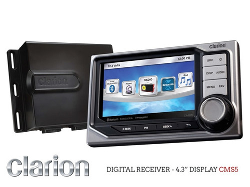 Clarion Hideaway Marine Digital Media Receiver with Bluetooth