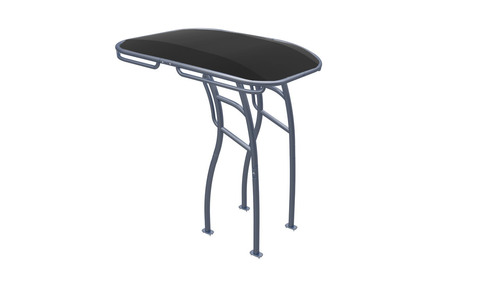 SG900 is the Best Boat T-Top for Center Console Boats Powder Coated QuickSilver Color